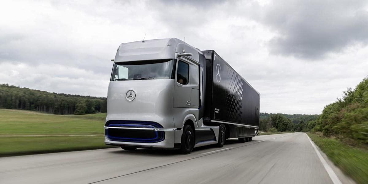 Transport hydrogène par Camion